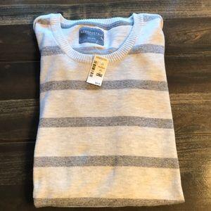 Men's Aeropostale Beige/Grey Sweater